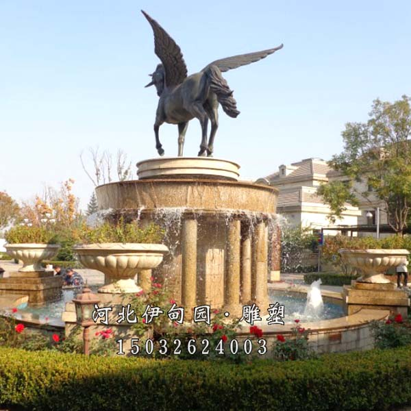 欧式简约喷泉 简单的喷泉雕塑 欧式石雕喷泉 石雕喷泉价格 喷泉景观