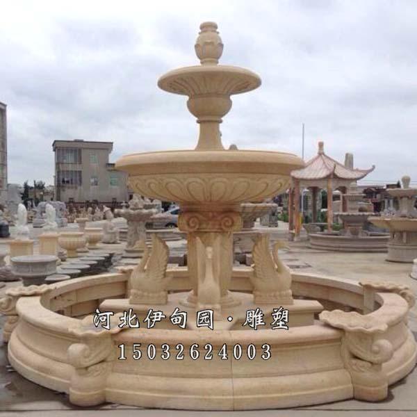 济南石雕喷泉 济南喷泉雕塑设计 济南景观雕塑喷泉厂 济南有做石雕