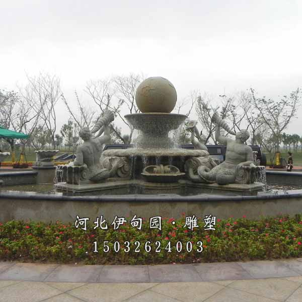 室外大型雕塑喷泉 园林景观喷泉雕塑 欧式水景喷泉 广场景观喷泉雕塑图片