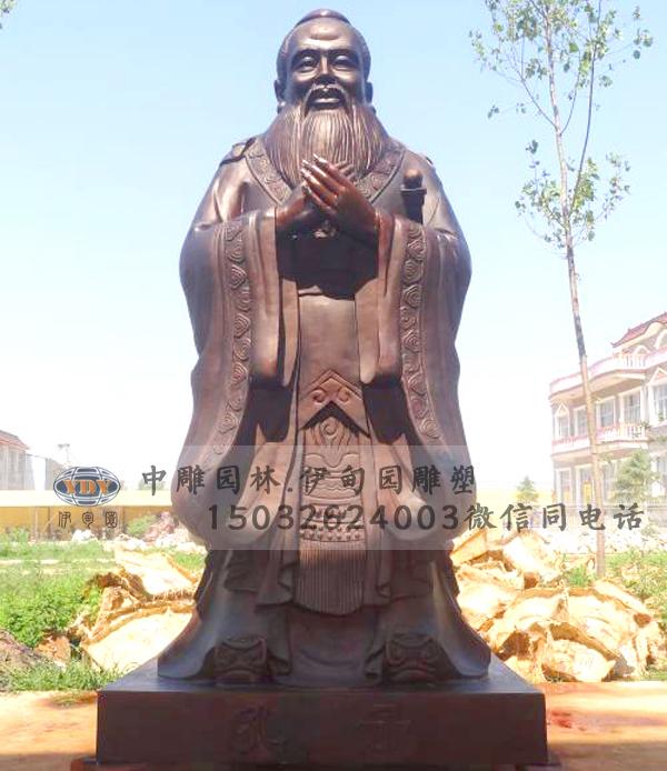 孔子雕塑与校园雕塑的紧密联系